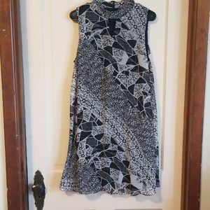 Perceptions New York black and white dress size 12